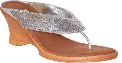 Pantof Girls Wedges(Silver)