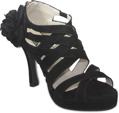 TEN Women Black Heels