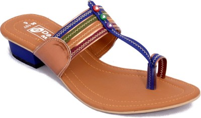 Dolphin Miles Women Blue Heels  available at flipkart for Rs.335