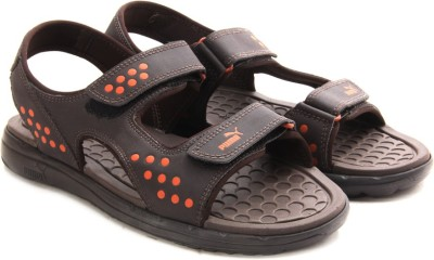 Puma Faas sandal Ind. Men Brown Sports Sandals at flipkart