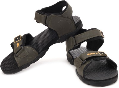 Sparx Men Olive Yellow Sports Sandals  available at flipkart for Rs.488