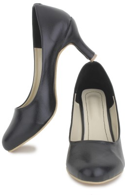 Sapatos Women MT-1007-Black Heels Flipkart