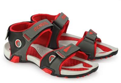 Density Men Grey, Red Sandals