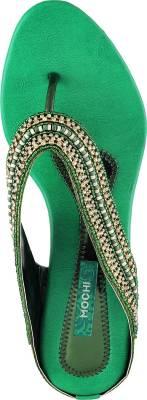 Mochi Women 21,Green Heels