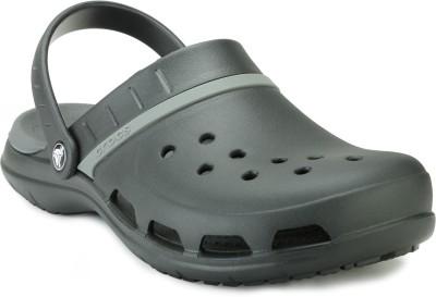 Crocs Women Black Clogs at flipkart