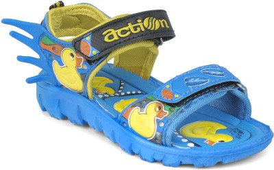 Action Shoes Boys & Girls Sports Sandals at flipkart
