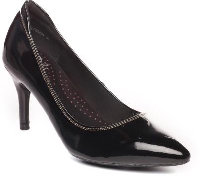 Pavers England Women BLACK Heels at flipkart