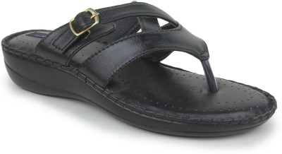 Funku Fashion Women Black Wedges at flipkart