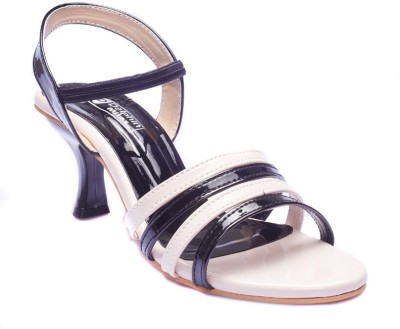 Dolphin Miles Women White Heels  available at flipkart for Rs.399