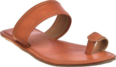 Brandvilla Men Tan Sandals