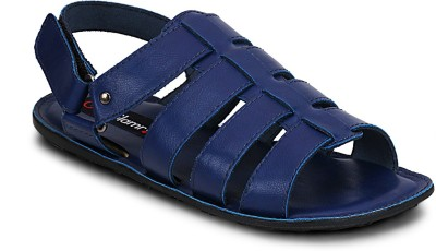 Get Glamr Men Blue Sandals at flipkart