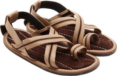 Ridhi Sidhi Men Beige Sandals  available at flipkart for Rs.249