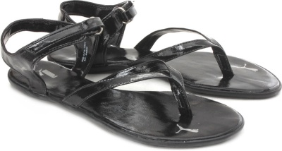 ad5a68e8d5c Puma 30480202 Women Glady Ind Black Sandals - Best Price in India ...