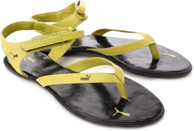 e9a4c35560d9 Puma 30480205 Women Glady Ind Green Sandals - Best Price in India ...