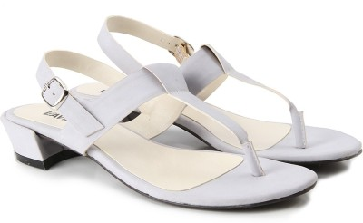 Lavie Women Grey Heels at flipkart