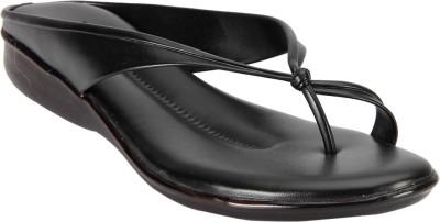 Imac Women Black Flats