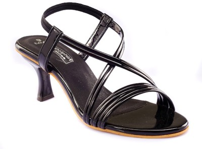 Dolphin Miles Women Black Heels  available at flipkart for Rs.399