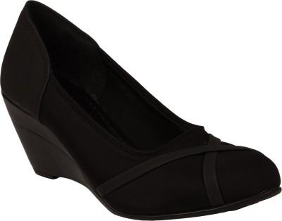Zachho Girls Wedges(Black)