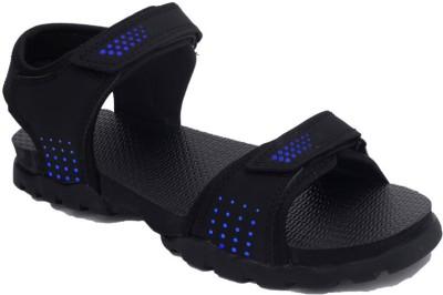 Rod Takes Men Blue, Black Sandals