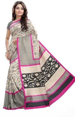 AJS Paisley Bollywood Art Silk Saree(Multicolor)