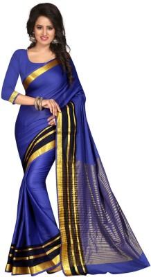 Style U Self Design Bollywood Art Silk Saree(Blue)