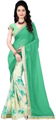 Airson Fab Printed Bollywood Georgette Saree