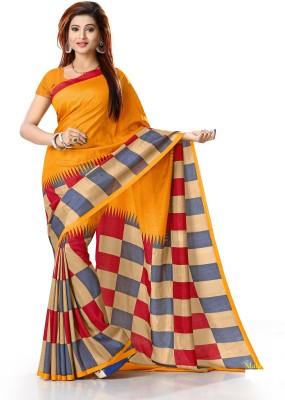 Gugaliya Self Design Bollywood Art Silk Saree Multicolor