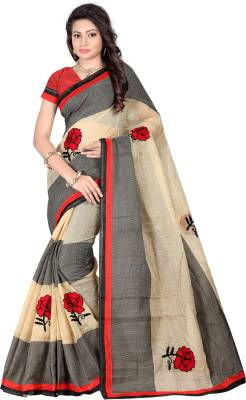 Bunny Sarees Embroidered Bollywood Cotton Saree