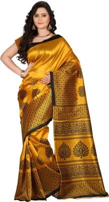 E-Vastram Printed Bollywood Art Silk Saree(Multicolor)