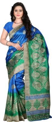 E Vastram Printed Bollywood Art Silk Saree Multicolor