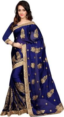 Style U Printed Banarasi Art Silk Saree(Pink)