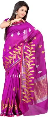Mimosa Woven Kanjivaram Handloom Art Silk Saree(Pink)  available at flipkart for Rs.999