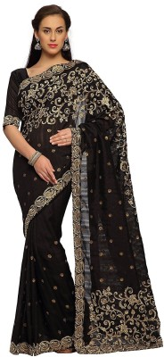 Indian Women By Bahubali Embellished Fashion Georgette Saree(Pack of 2, Multicolor)
