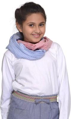 Citypret Self Design Cotton Girls Scarf