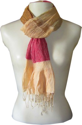 Dushaalaa Striped Coton, Lycra Women's Scarf