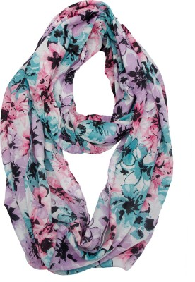 Get Wrapped Floral Print Polyester Women's Stole