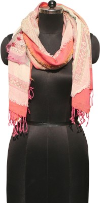 Glam Tree Embroidered 100% WOOL Girls Scarf
