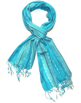 3f3656af5 70% OFF on Indian Fashion Guru Striped Cotton Viscose Blend Women Stole