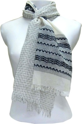 Dushaalaa Checkered Cotton Women's Scarf