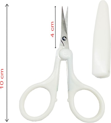 Styler Cosmetology Safety Cover scissor scissors(Set of 1, White)  available at flipkart for Rs.119