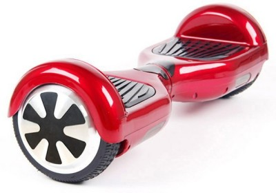 sky wings Sky Wings Self Balancing Scooter With Bluetooth, Remote, Led Lights electric Scooter(Red) at flipkart