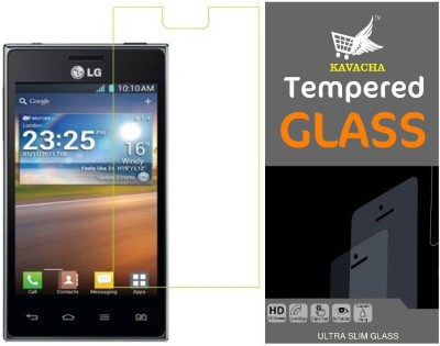 S-Model Tempered Glass Guard for LG Optimus L5 Dual E615