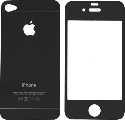 GadgetM Front and Back Screen Guard for Apple iPhone 4s(Pack of 1)