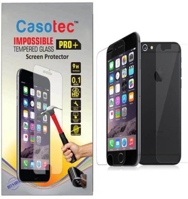 Casotec Edge To Edge Tempered Glass for Apple iPhone 6