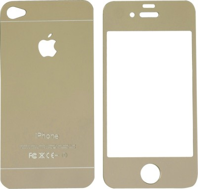 GadgetM Front and Back Screen Guard for Apple Iphone 4