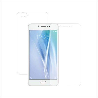 Case Creation Front and Back Screen Guard for Vivo V5(Pack of 2)