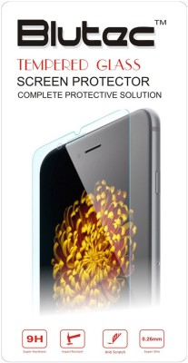 Blutec Tempered Glass Guard for Apple iPhone 4s, Apple iPhone 4(Pack of 1)
