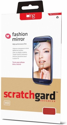 Scratchgard Mirror Screen Guard for Apple iPhone 5S (Front & Back)
