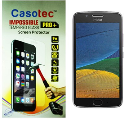 Casotec Impossible Screen Guard for Motorola Moto G5(Pack of 1)