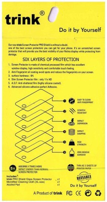 Trink Impossible Screen Guard for karbonn A27(Pack of 1)